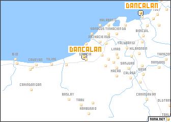 map of Dancalan