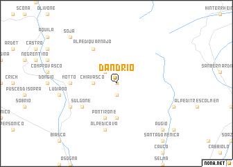 map of Dandrio