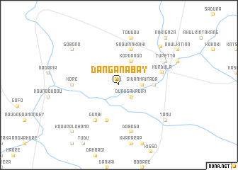 map of Dan Ganabay