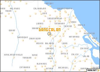 map of Dangcalan
