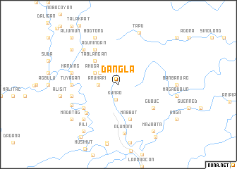 map of Dangla