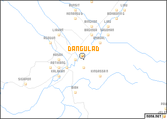map of Dangulad