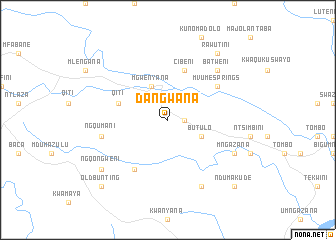 map of Dangwana