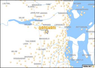 map of Dangwāni