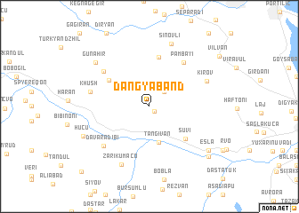 map of Dangyaband