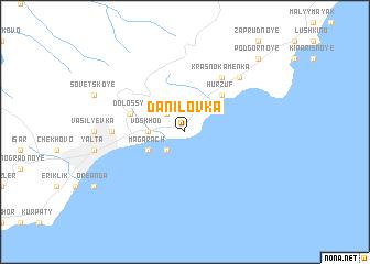 map of Danilovka