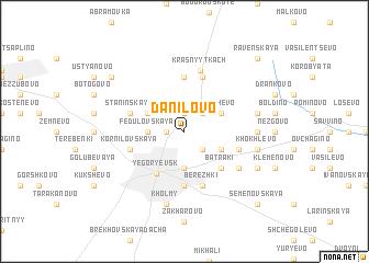map of Danilovo