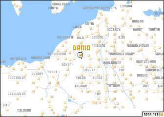 map of Danio