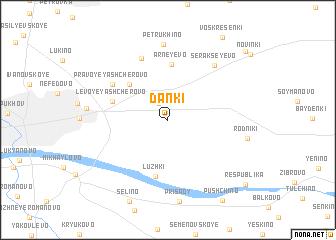 map of Danki