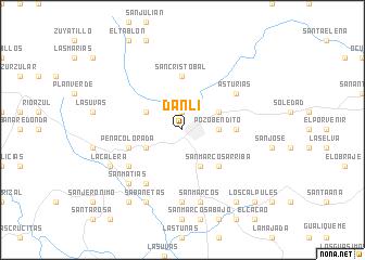 Danl Honduras map nonanet