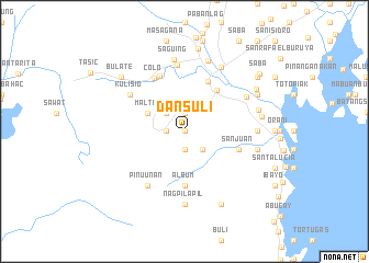 map of Dansuli
