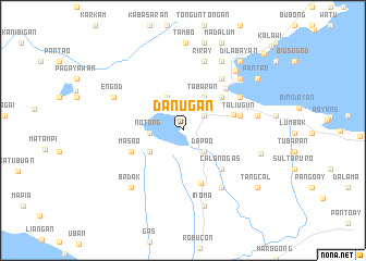 map of Danugan