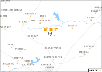 map of Danway