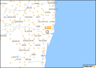 map of Dao