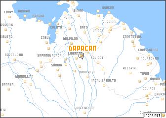 map of Dapacan
