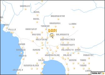 map of Dapi
