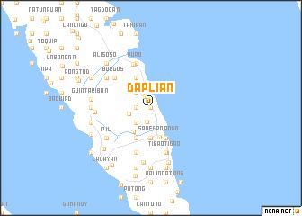 map of Daplian