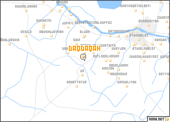 map of Daqdaqah