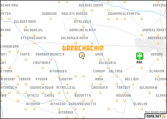 map of Dar Achachir