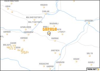 map of Darada