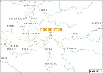 map of Daragutan