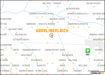 map of Dar Ali Ben Laïch