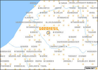 map of Dar Amesil