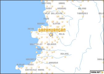 map of Daramuangan