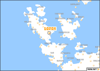 Daram Philippines Map Nona Net