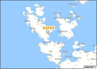 map of Daram