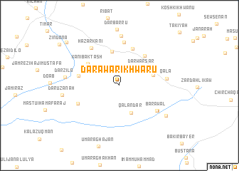 map of Darawar-i Khwārū