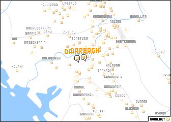 map of Dar Bāgh