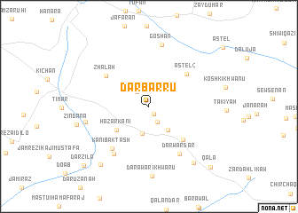 map of Dar Barru