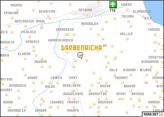 map of Dar Ben Aïcha