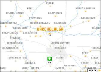 map of Dar Chelalga