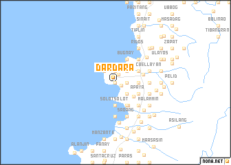 map of Dardara