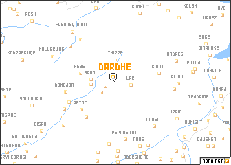 map of Dardhë