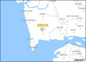 map of Darein