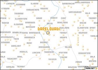 map of Dar el Ouadi