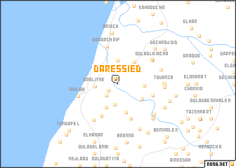 map of Dar es Sied