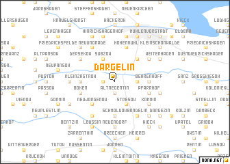 map of Dargelin