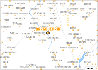 map of Dar Gouerraf