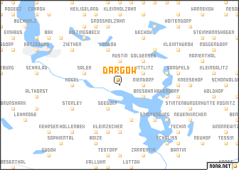 map of Dargow
