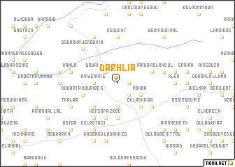 map of Darhlia