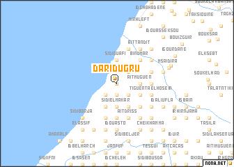 map of Darid U Gru