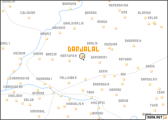 map of Dār Jalāl