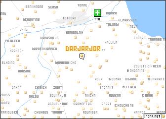 map of Dar Jarjor