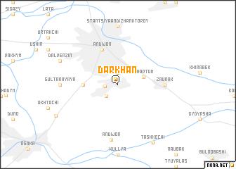 Darkhan Uzbekistan map nonanet