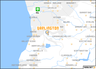 Darlington Australia map nonanet