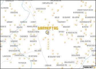 map of Dar Meftag